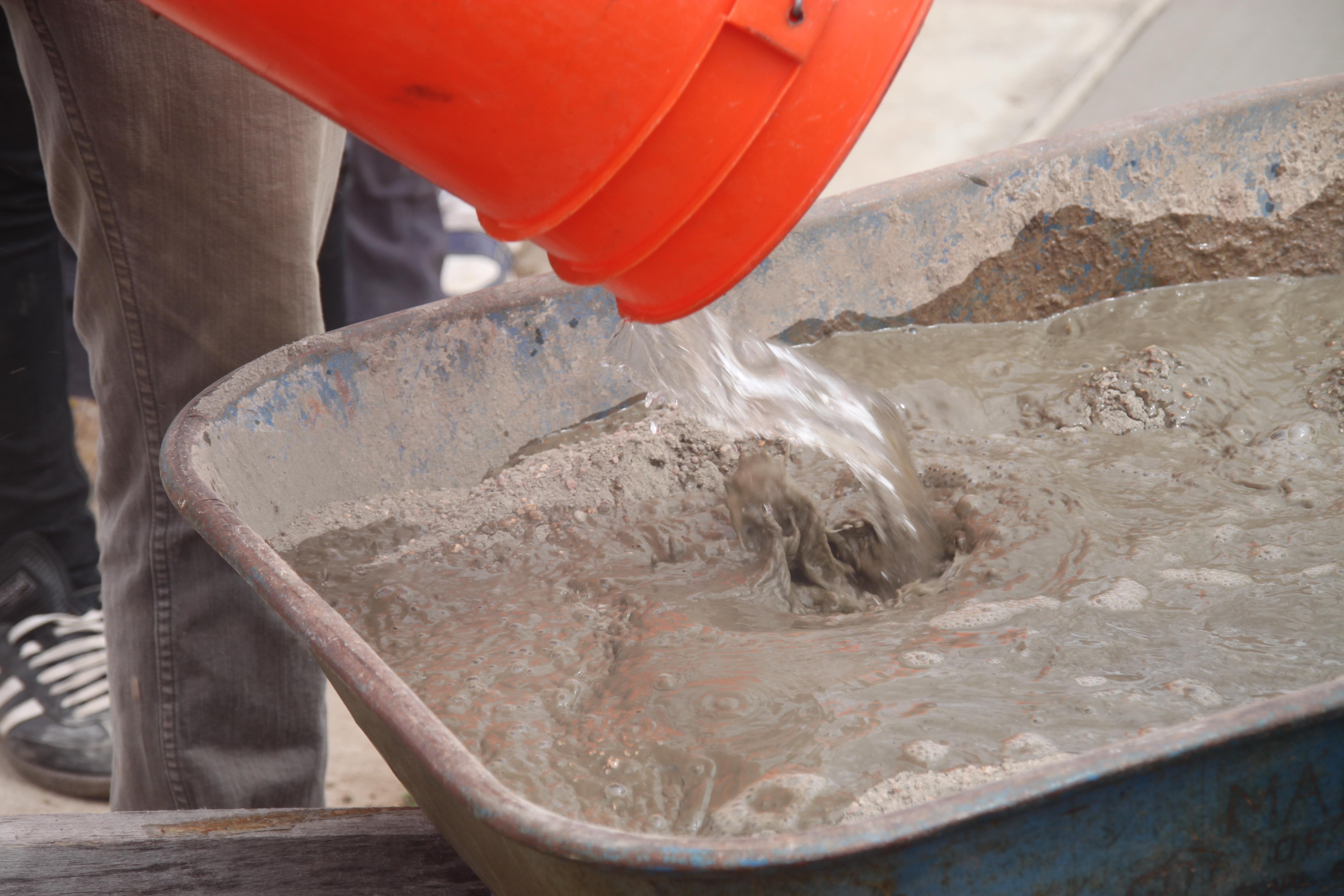 beton, malta priprava